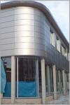 Монтаж вентилируемых алюминиевых фасадов.