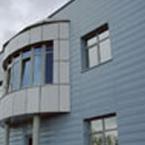 Реечные навесные вентилируемые фасады