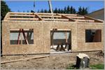 Строительство деревянного дома.