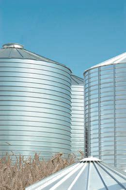 Бункеры для зерна (элеваторы