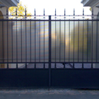 Ворота из поликарбоната