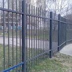Металлический забор